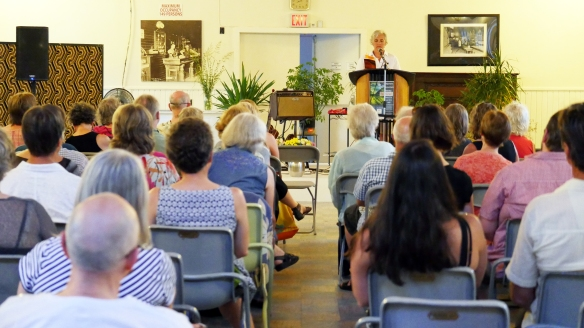 Jane reads at Elephant Mountain Literary festival in Nelson BC on July 11th, 2014